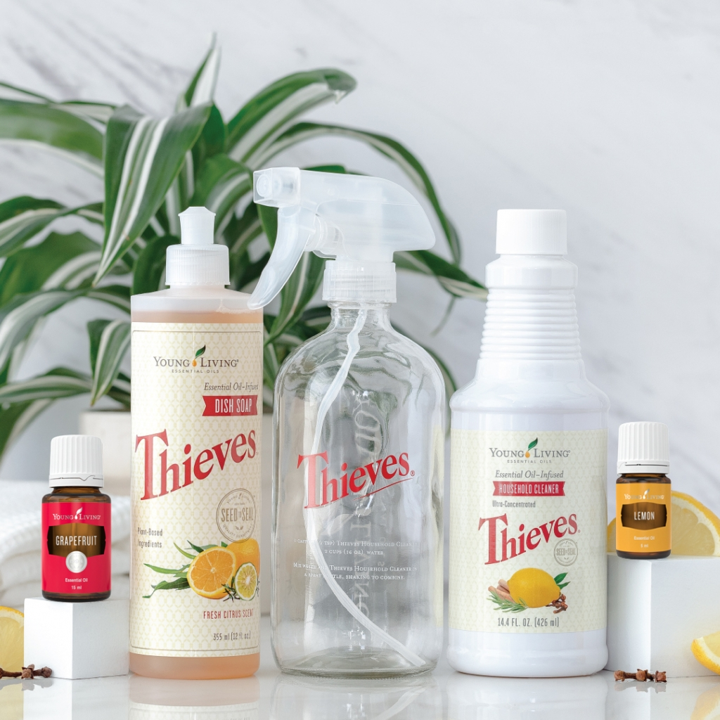 Thieves Products, Lemon Essential Oil and Grapefruit Essential Oil