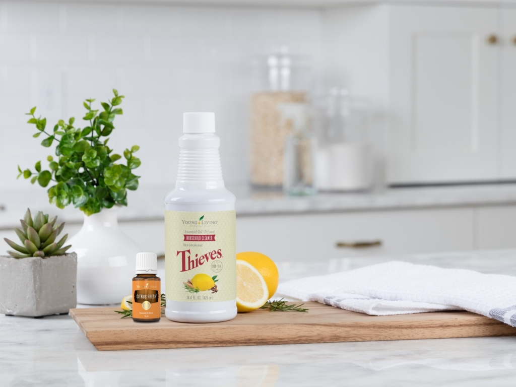 Thieves Household Cleaner and Citrus Fresh Essential Oil