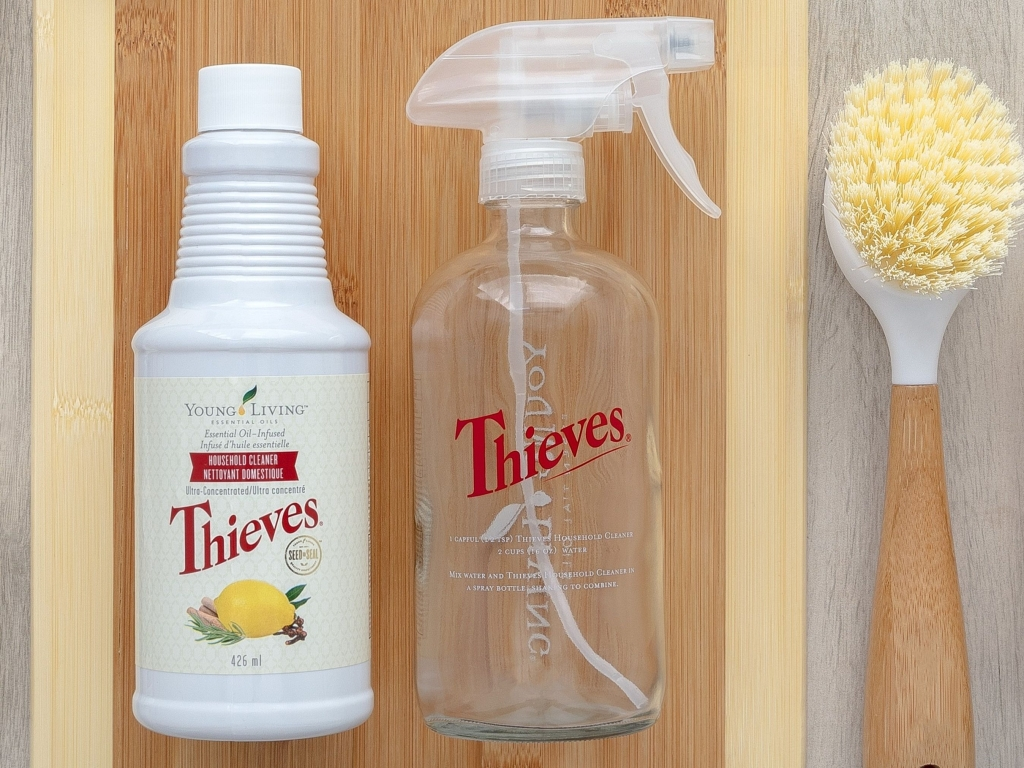 Thieves Household Cleaner and Spray Bottle
