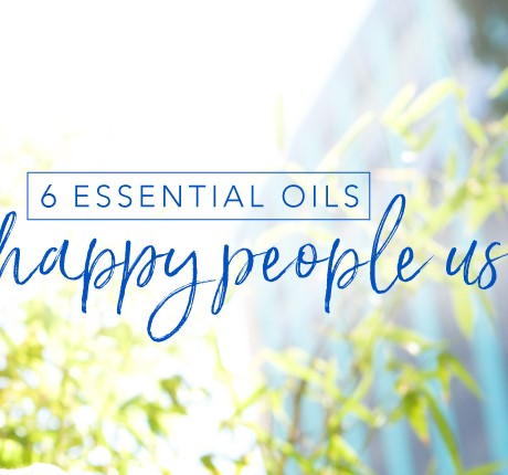 6 essential oils happy people use
