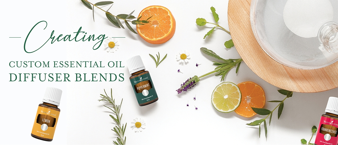 Creating Essential Oil Diffuser Blends