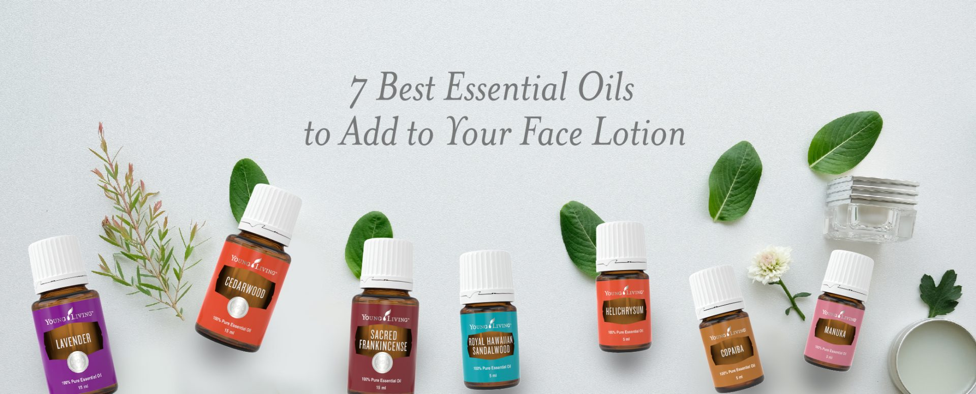 Collection of Young Living Essential Oils for face