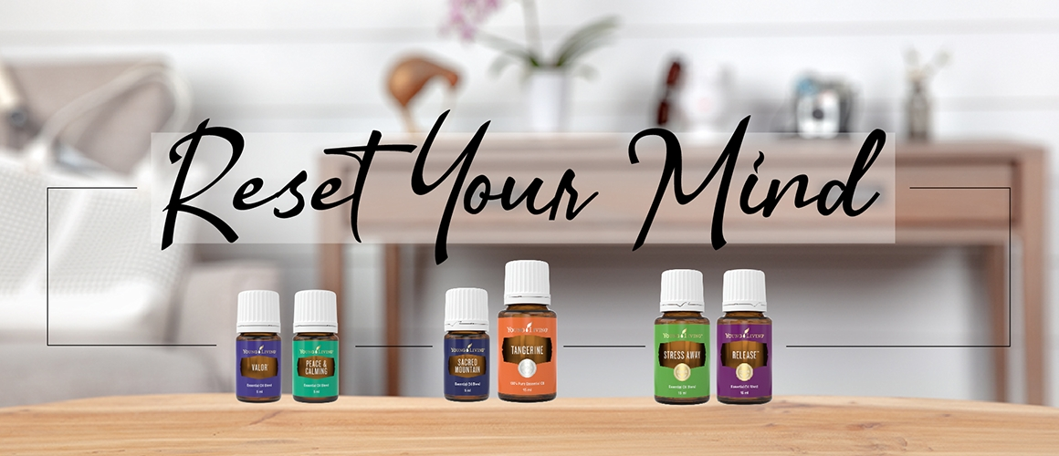 Essential Oil Collection to Reset Your Mind