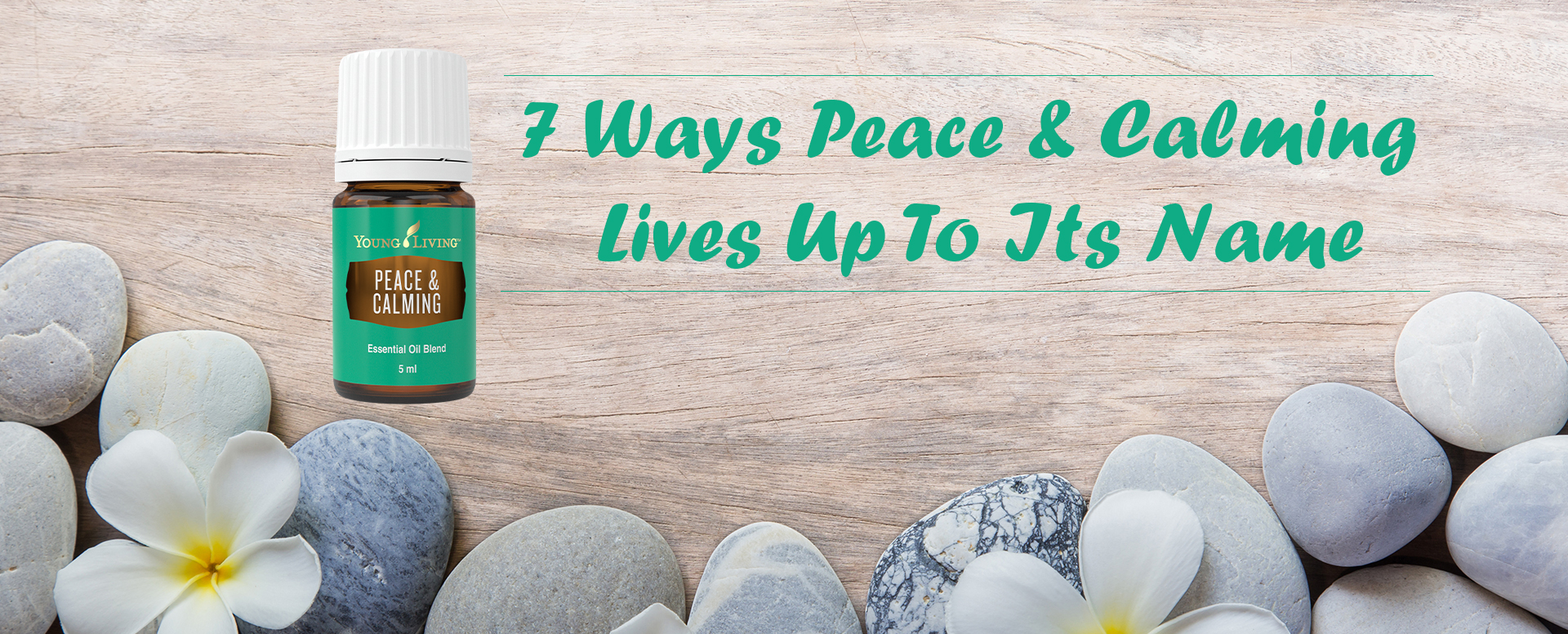 peace and calming essential oil blend uses