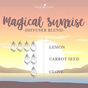 Diffuser Blend Magical Sunrise Essential Oil Blend