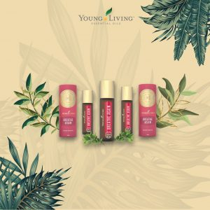 bottles of young living breath again roll on