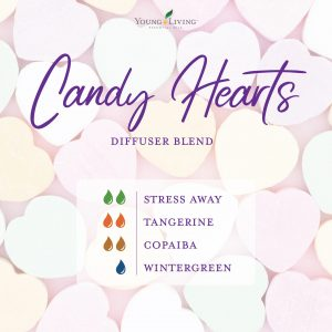 romantic essential oil diffuser blend recipe-candy Hearts