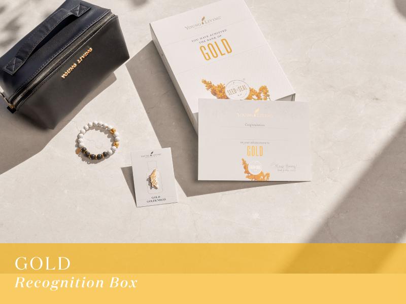 ゴールド レコグニションボックス