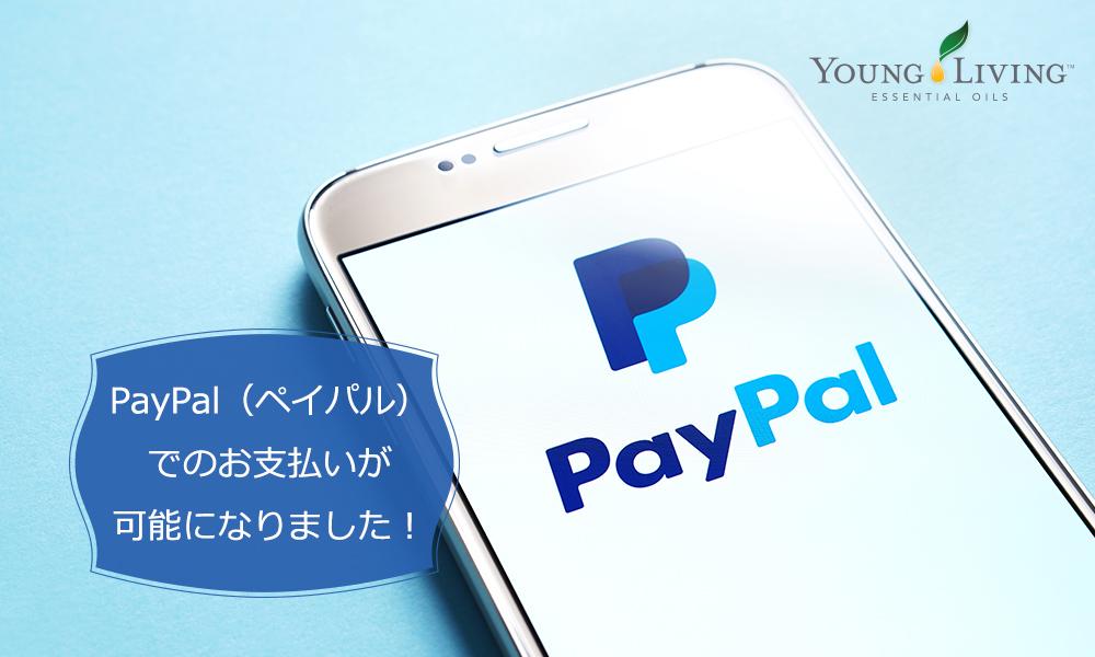 PayPal(ペイパル)でのお支払いが可能になりました!