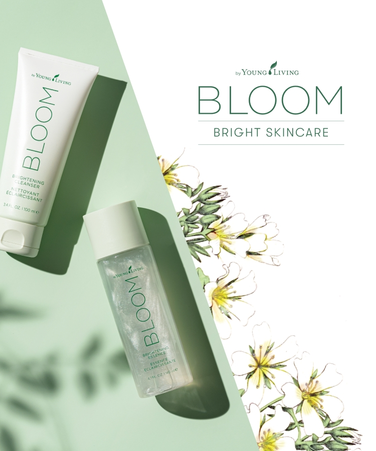 September 2021 10% off September 1 - September 15 First anniversary of BLOOM by Young Living skincare series  A bright care series that leads to fine, bright and radiant skin