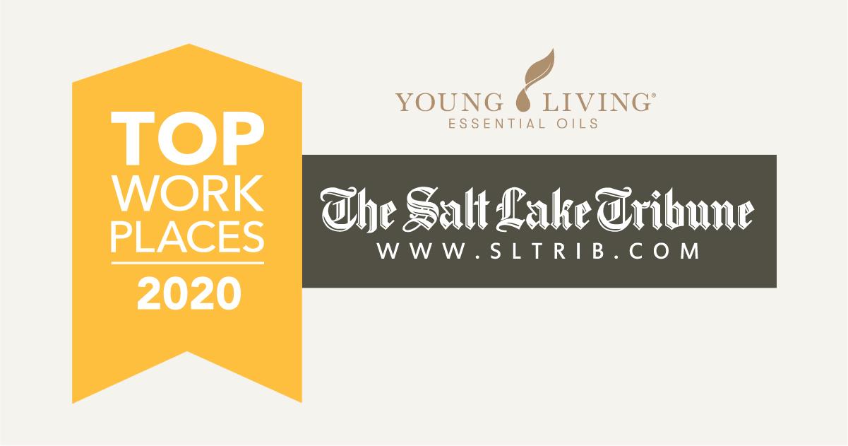 ヤング・リビングがユタ州のトップワークプレイス2020を受賞