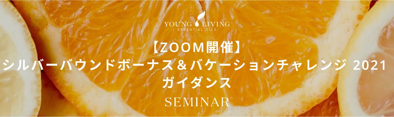 【ZOOM開催】シルバーバウンドボーナス&バケーションチャレンジ 2021 ガイダンス
