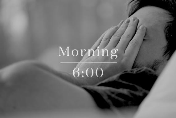 妻の声で、目を覚ます。
