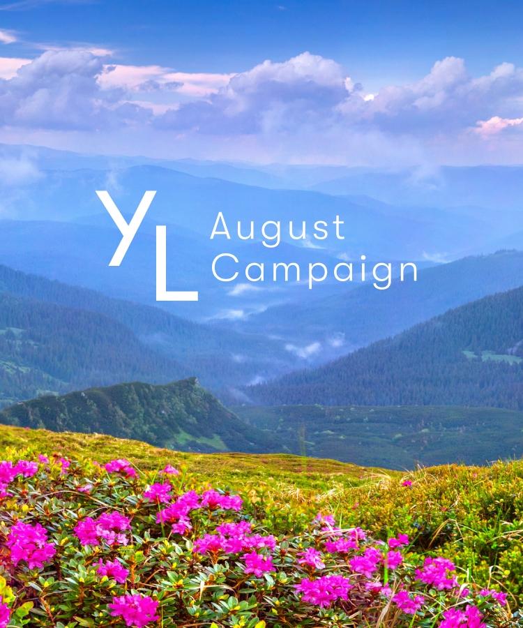 8月1日(日)~8月25日(水)YLおトク便限定キャンペーン|心地良いエッセンシャルオイルの香りで、素敵な夏を。。