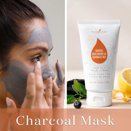 【限定販売】『チャコールマスク』で毛穴汚れをさっぱり!|お肌を柔らかく整えるディープクレンジングマスク