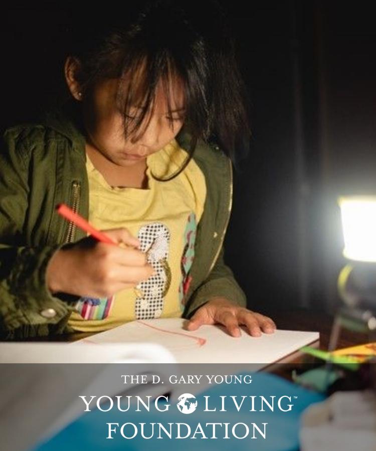 ナバホ族とゴシュート族への遠隔教育支援|ヤングリビング基金 社会貢献活動
