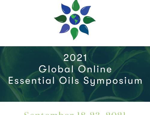 【参加受付中】2021年グローバル・オンライン・エッセンシャルオイル・シンポジウム