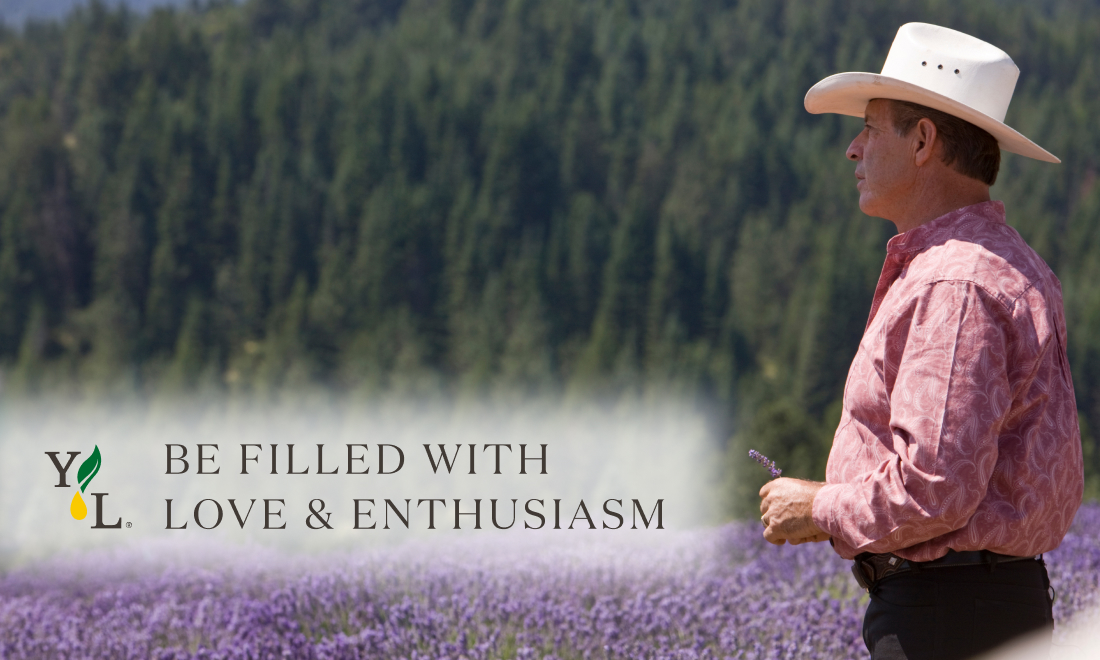 ゲリー・ヤング~愛のある世界を目指して~|第1回:愛情と情熱で満たされる