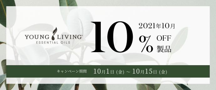 10% off campaign period