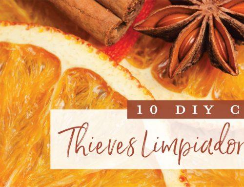 10 usos del Limpiador Doméstico Thieves