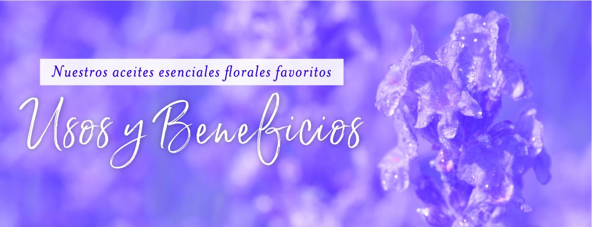 Aceites esenciales florales