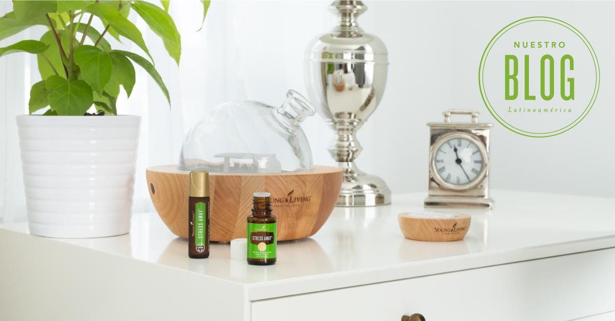 7 usos diarios del Aceite Esencial Stress Away