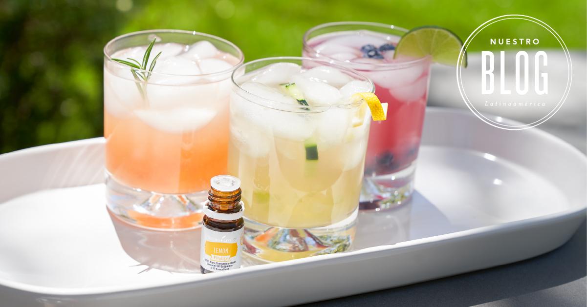 3 refrescantes cócteles sin alcohol para saborear en este verano