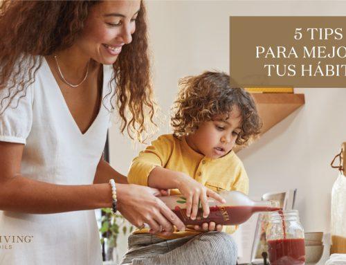 5 tips para tener hábitos saludables