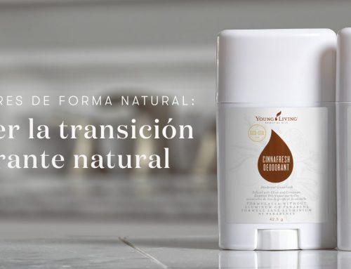 Vence los olores de forma natural: como hacer la transición al desodorante natural