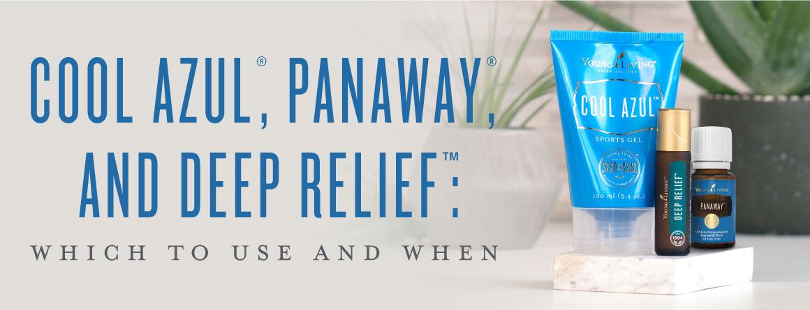 Cool Azul PanAway Deep Relief Roll On
