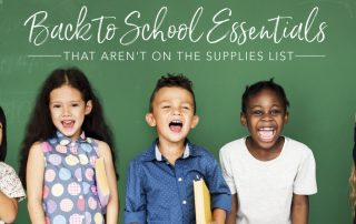 back to school essentials Young Living