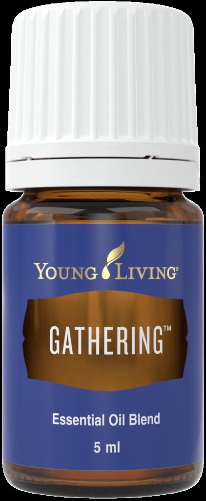 Gathering essential oil