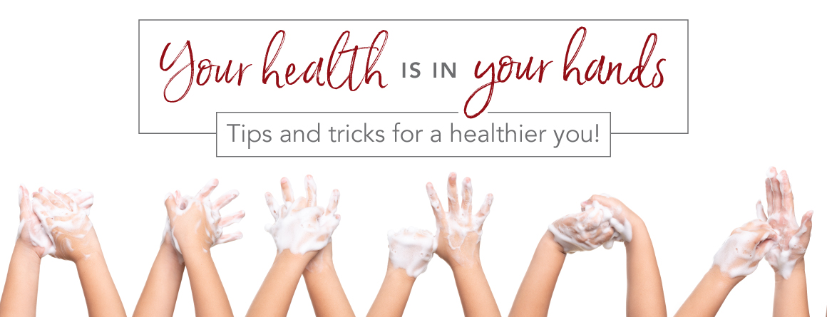 your health is in your hand