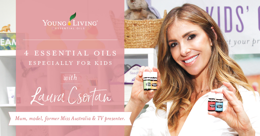 Laura C Kids Scents Young Living 4 oils