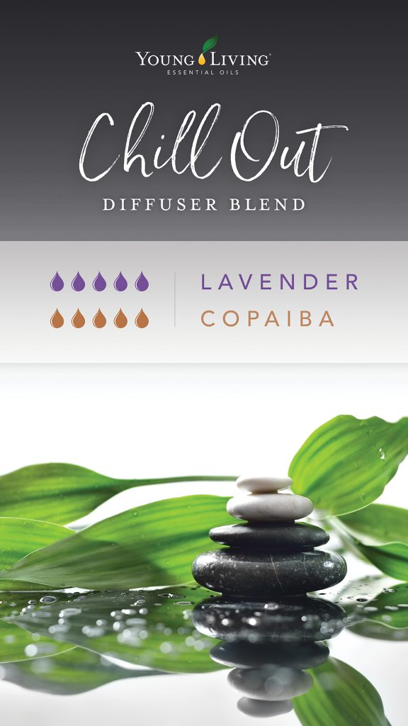 Lavender and copaiba essential oil blend