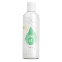 lavender mint shampoo from young living essential oils