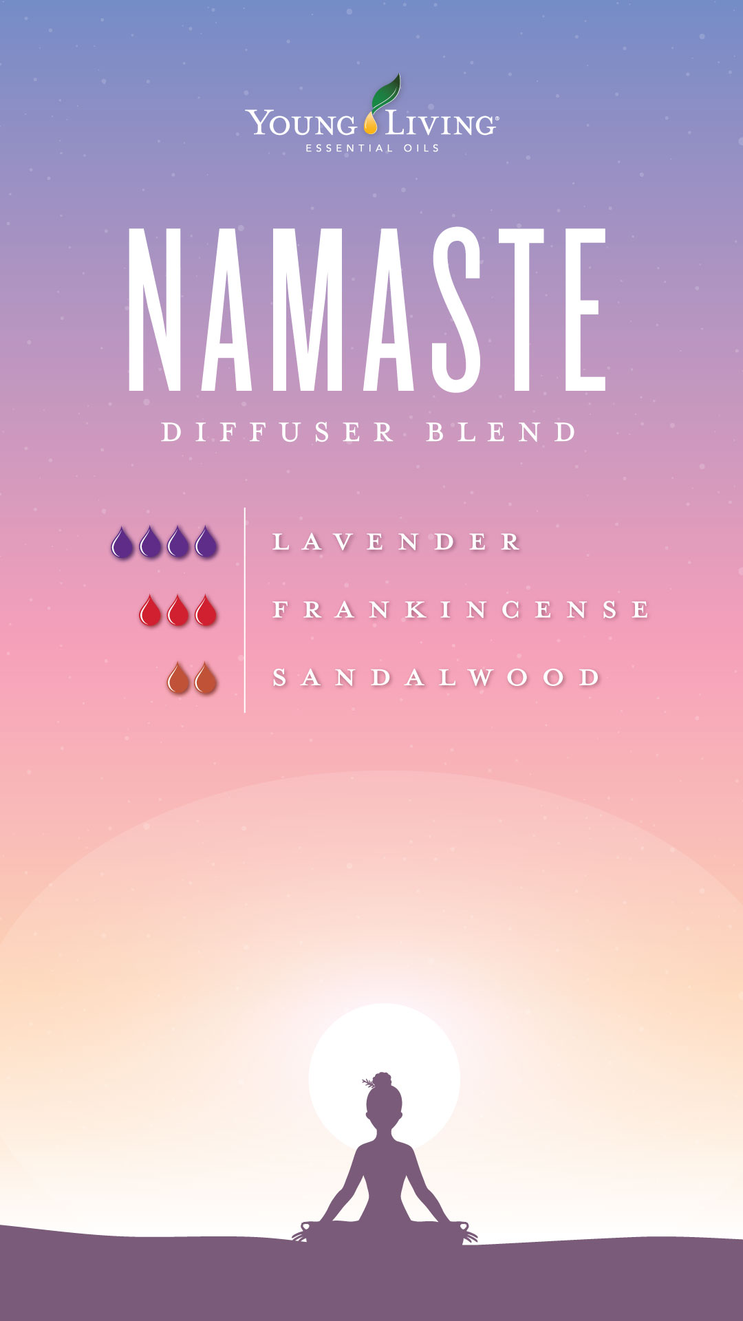 Namaste Diffuser Blend Essential Oil Young Living