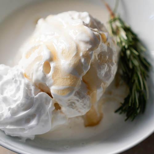 Honey & Rosemary Ice-Cream