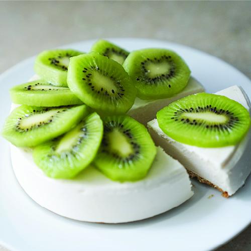 Vegan Cheesecake with Citrus Fresh Essential Oil