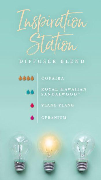 Inspiration Station diffuser blend