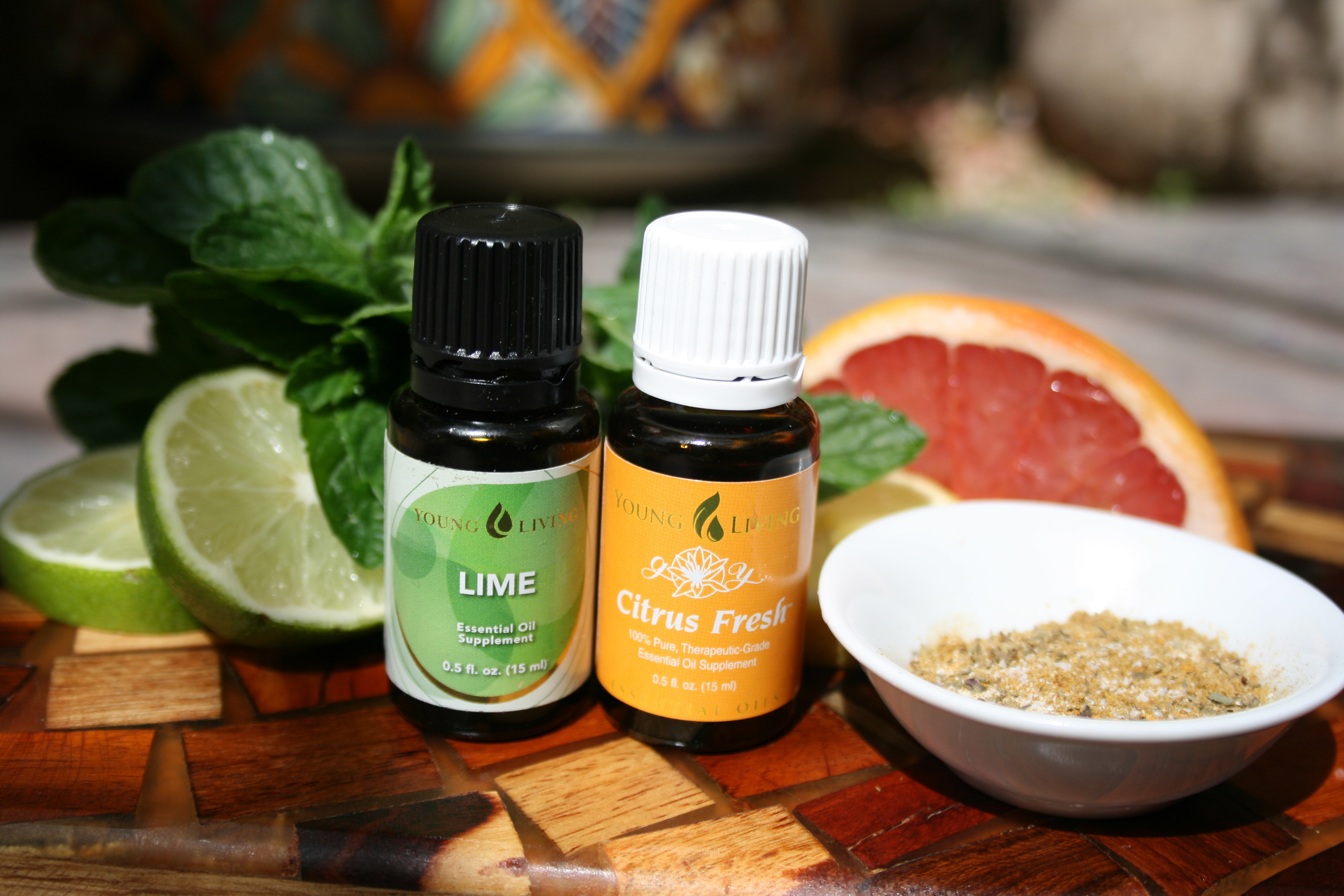 Well Being With Essential Oils Diffuser And Treatments
