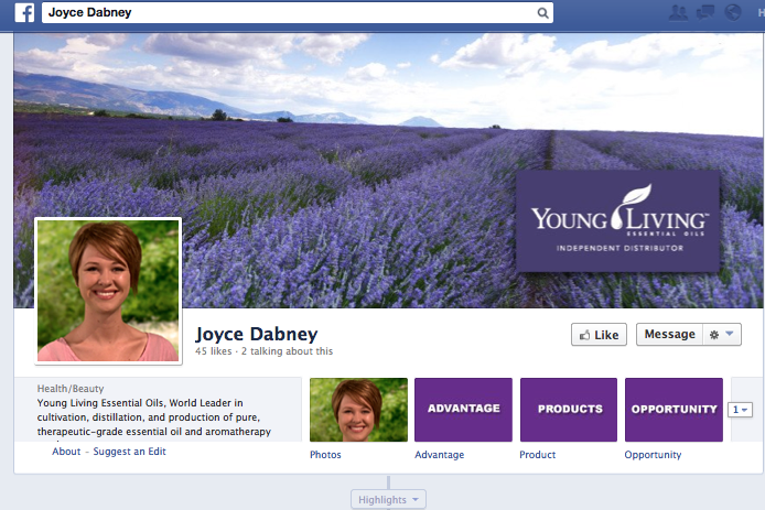 Build Your Business with the Young Living Facebook Service   Young ...