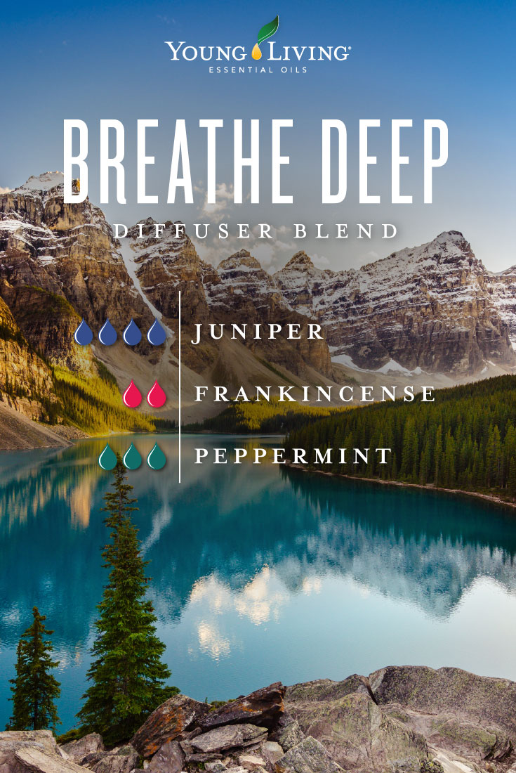 Breathe Deep diffuser blend