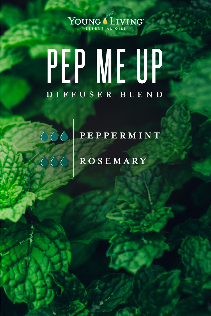 Pep Me Up diffuser blend