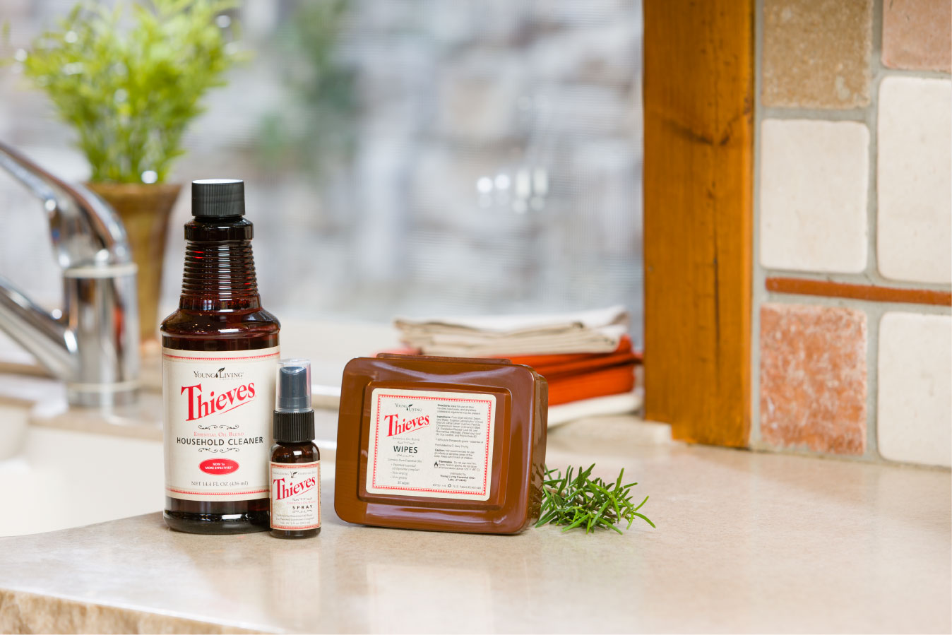 Cleaning Your Kitchen With Thieves Products Young Living