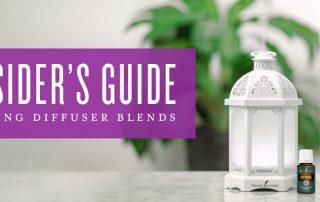Creating custom essential oil diffuser blends