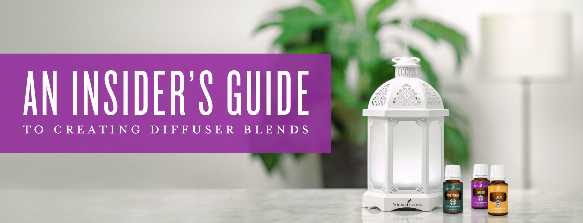 Creating custom essential oil diffuser blends