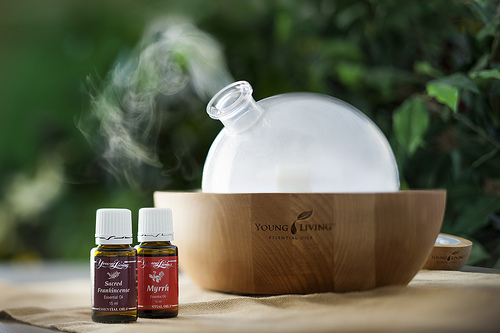 Creating Custom Essential Oil Diffuser Blends Young