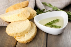 Olive Oil Dipping Sauce with Young Living Rosemary Essential Oil