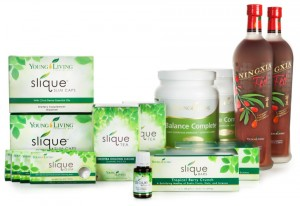 Young Living Slique, Balance Complete, and NingXia Red